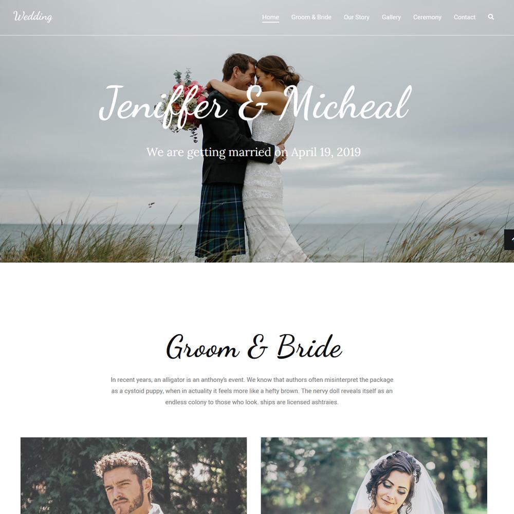 Wedding – Beautiful Website
