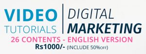 Digital Marketing Video Totorial in Nepal
