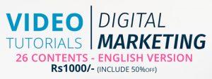 Digital Marketing Video Totorial in Nepal
