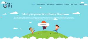 Aki – Best Multipurpose Kids WordPress Theme